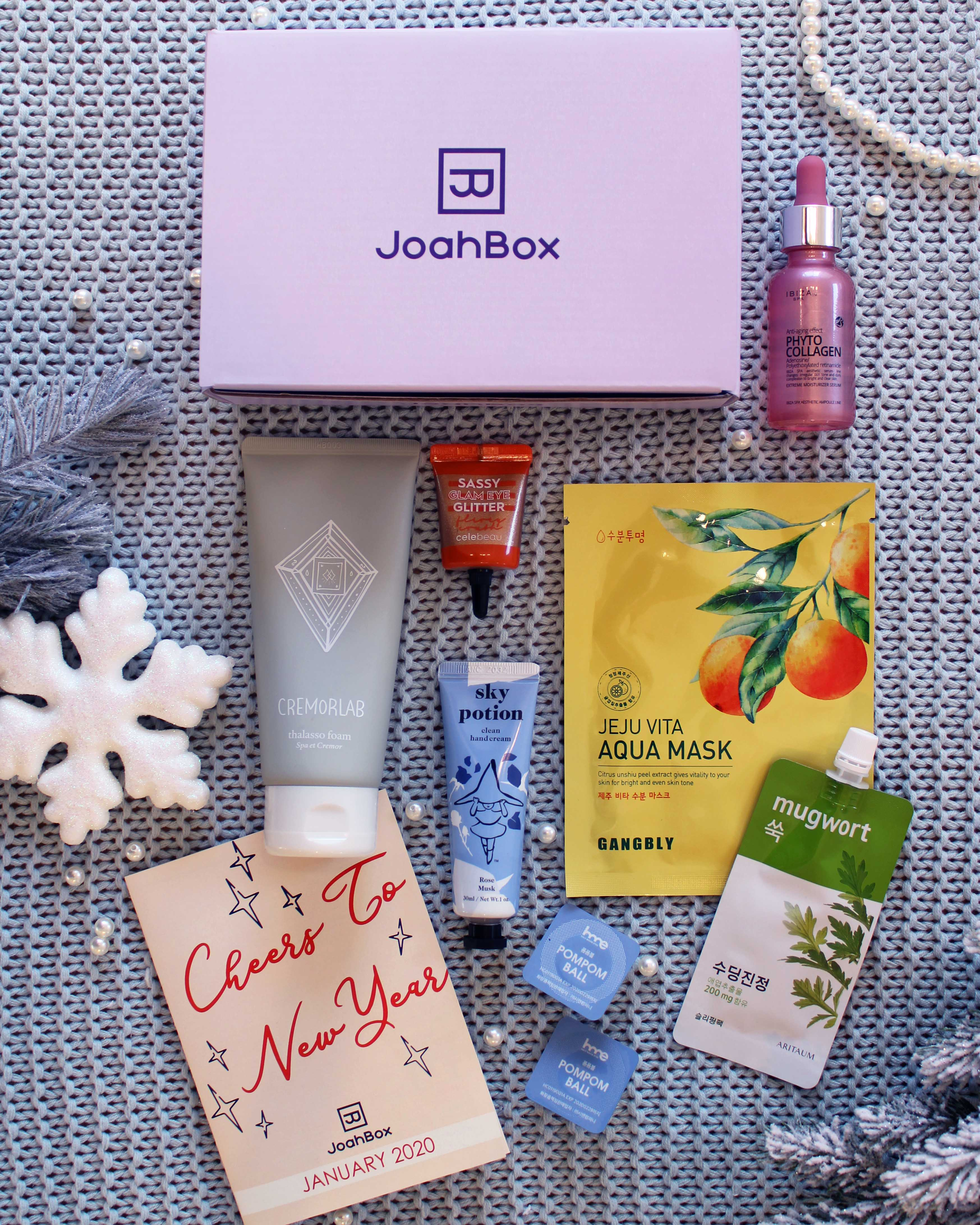 Korean Beauty Box Skincare And