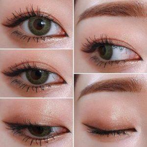 k-makeup look-eyes-eyeshadow