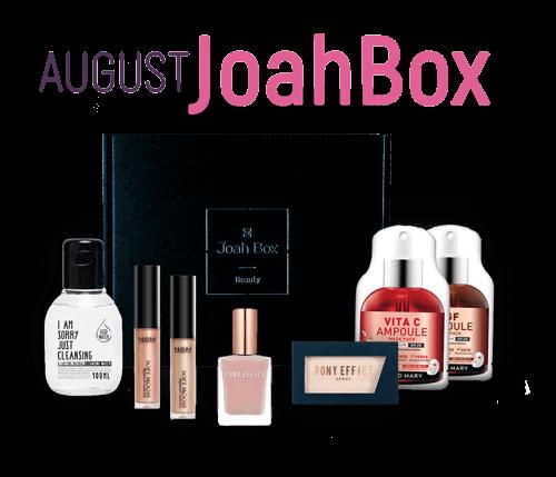 August JoahBox - Korean Beauty Subscription Box