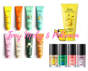 Korean Beauty Tony Moly & Pokémon