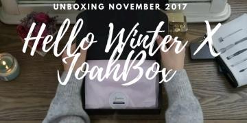 Korean Subscription Box November 2017