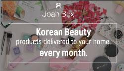 JoahBox Korean Makeup Subscription Box  - Affiliate Program
