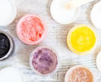 scrubbing based on your skin type