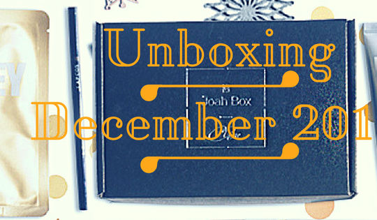 Korean Subscription Box Unboxing December Box