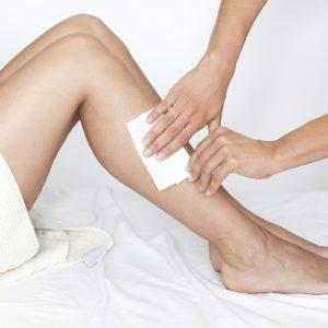 hair removal tips-legs-wax strip