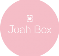 JoahBox Logo pink background