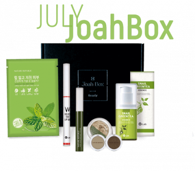 Korean Beauty Products - JoahBox Previous Box : July